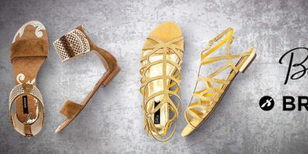 Hravé aj elegantné dámske topánky Bronx, Blink