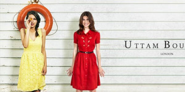 Roztomilé aj šmrncovné šaty, blúzky a svetríky Uttam Boutique