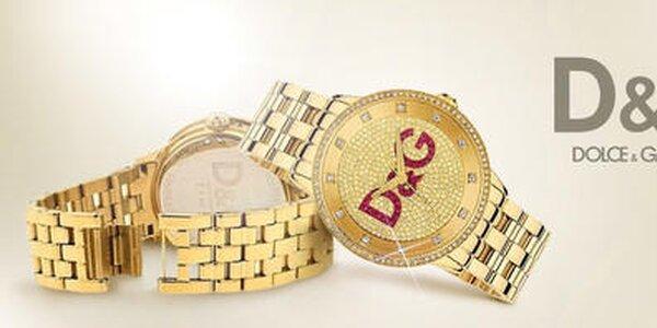 Chodievajte včas s hodinkami Dolce & Gabbana
