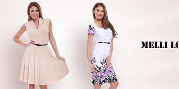 Melli London - šaty s puncom nadčasovej elegancie
