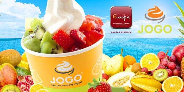 JOGO čerstvý mrazený jogurt s ovocím