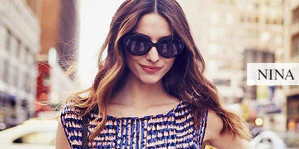 Moderné slnečné okuliare pre dámske očká Nina Ricci