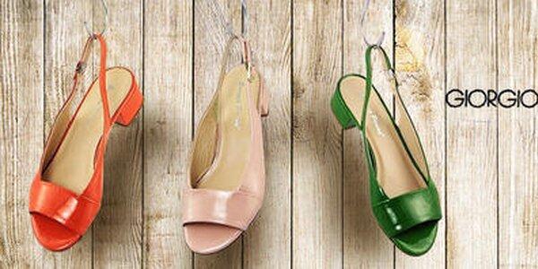 Neodolateľné topánky s talianskym nábojom Giorgio Picino