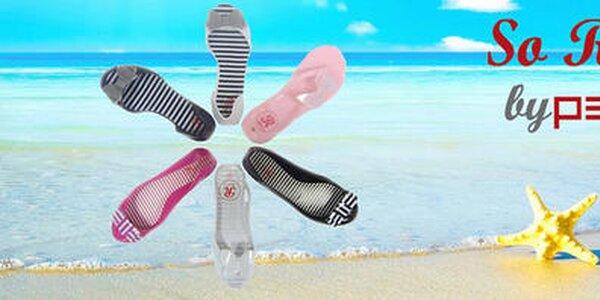 Trendy letné topánky a sandálky v žiarivých farbách So Real