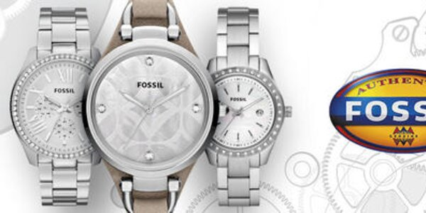 Tak ide čas - jedinečné pánske hodinky Fossil