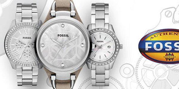 Jedinečné dámske hodinky a šperky Fossil