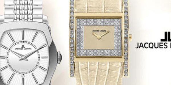 Je čas na elegantné dámske hodinky Jacques Lemans