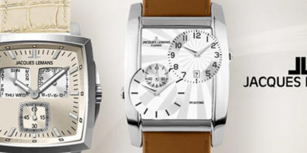 Je čas na elegantné pánske hodinky Jacques Lemans