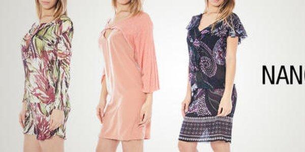 Nancy N. - štýlové letné vzorované šaty