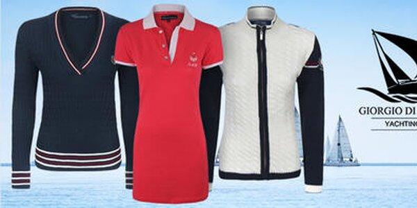 Odplávajte na vlnách športovej elegancie s dámskou módou Giorgio di Mare