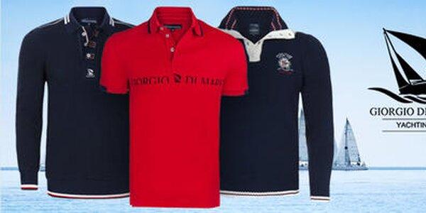 Odplávajte na vlnách športovej elegancie s pánskou módou Giorgio di Mare