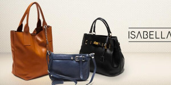 Pre náročné - luxusné kožené kabelky Isabella Rhea