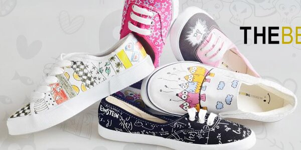 Hravé a originálne voľnočasové topánky The Bees