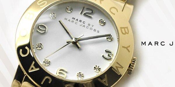 Rafinované dámske hodinky Marc Jacobs