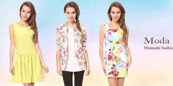 Moda Prym - farebné šaty a tuniky pre pravú dámu