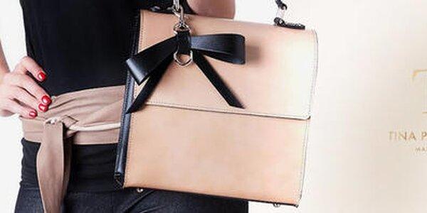 Neobyčajné kožené kabelky z Talianska Tina Panicucci