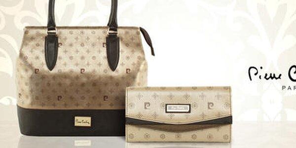 Luxusné dámske peňaženky a kabelky Pierre Cardin