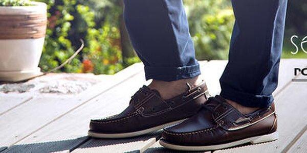Vždy elegantné pánske topánky Solier, Roamers, DEK ...