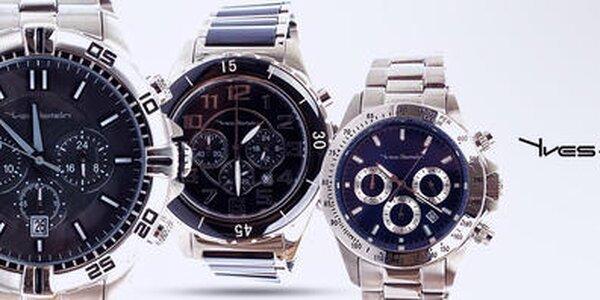 Držte čas pevne v rukách - pánske hodinky Yves Bertelin
