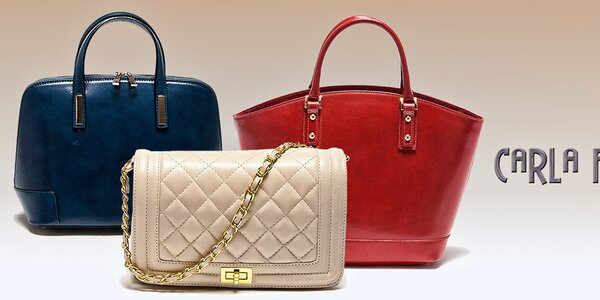 Prekrásne dámske kabelky Carla Ferreri