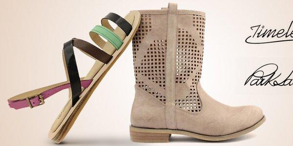 Šťavnaté dámske letné topánky Timeless, Park Lane, Trendy Too