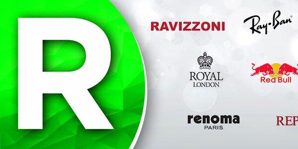 R - Ray-Ban, Ravizzoni, Replay... Skladom