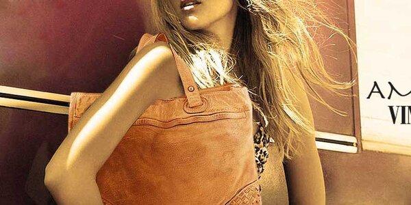 Luxusné kožené kabelky Amylee
