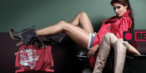 Šik dámske topánočky pre rôzne príležitosti Red Hot