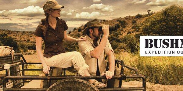 Príjemné pánske oblečenie Bushman