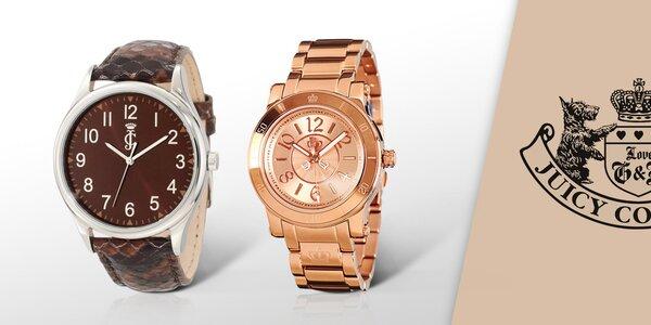Skrášlite svoje zápästie hodinkami Juicy Couture