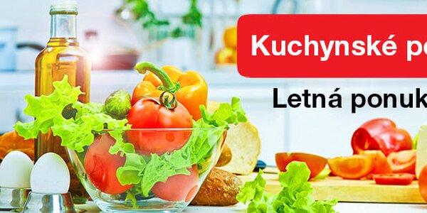 Letná ponuka kuchynských potrieb
