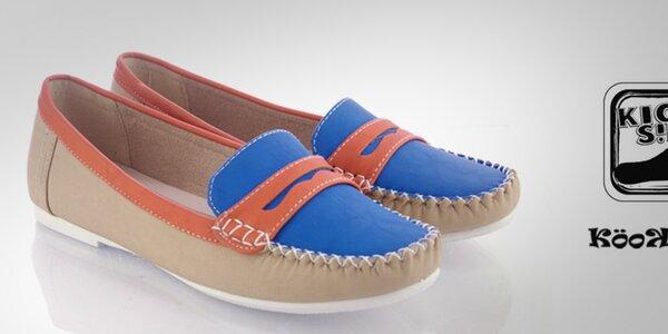 Farebné dámske a detské topánky a sandáliky Kickside a Kookside od 11,99€