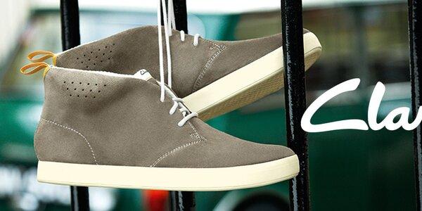 Elegantná aj pohodová pánska obuv Clarks