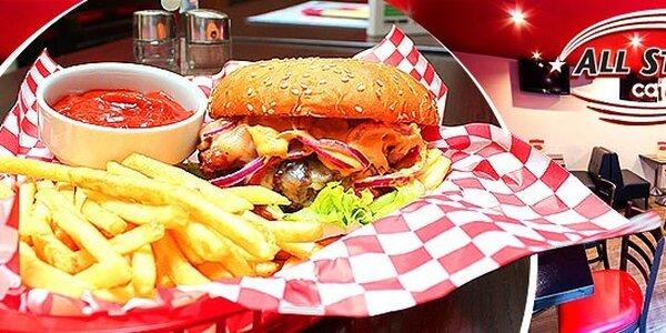 All Stars Burger či Mexican Jalapeño Burger