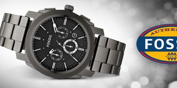 Čas v elegantnom kabáte - pánske hodinky Fossil