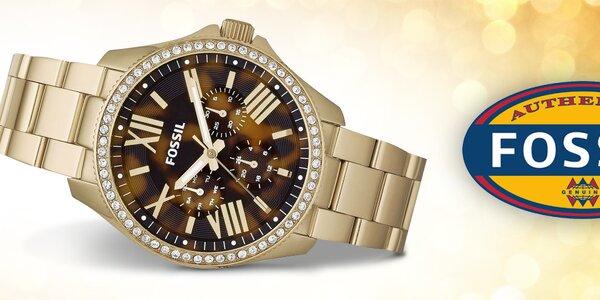 Čas v elegantnom kabáte - dámske hodinky Fossil