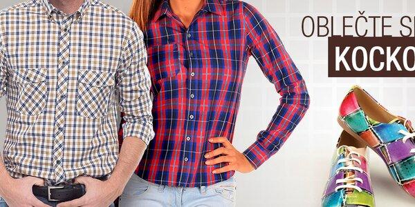Oblečte si kockované módne kúsky