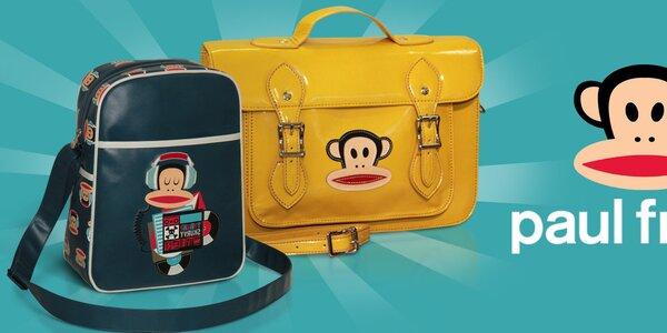 Farebné tašky a ruksaky Paul Frank - tá správna opičiareň!