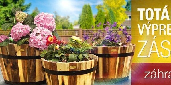 Výpredaj záhradného tovaru