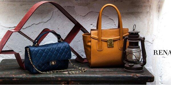 Renata Corsi - elegantné kožené kabelky na každý deň