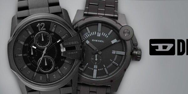 Diesel - kvalitné oceľové hodinky pre mužov