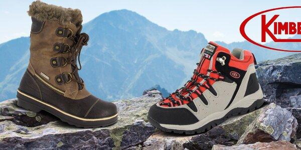 Dámske topánky Kimberfeel - do hôr aj do mesta