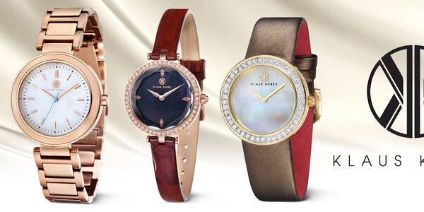 Klaus Kobec - skvostné hodinky pre dámsku rúčku