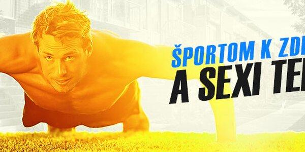 Športom k zdraviu a sexi mužskému telu