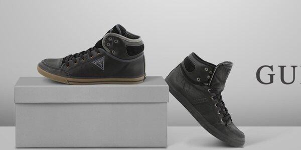 Moderná mestská obuv pre náročných pánov Guess