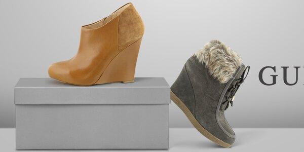Moderná mestská obuv pre náročné dámy Guess