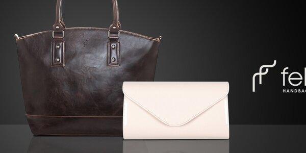 Elegantné dámske kabelky a listové kabelky Felice