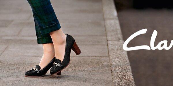 Pekné dámske topánky Clarks