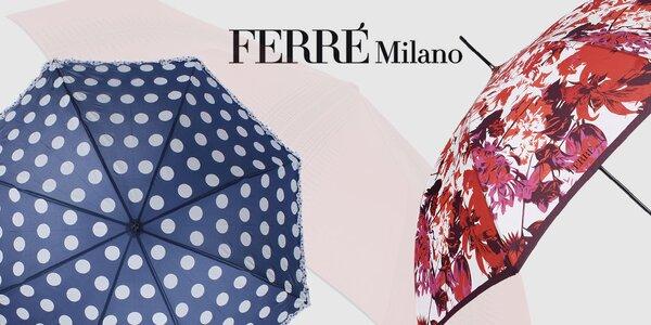Schovajte sa dažďu - dámske dáždniky Ferré Milano