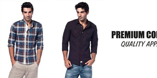 Príjemné pánske košele Premium Company